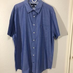 Tommy Hilfiger Custom Fit Casual Button Down 3XL